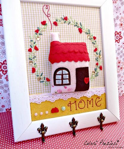 Home sweet home...hang keys