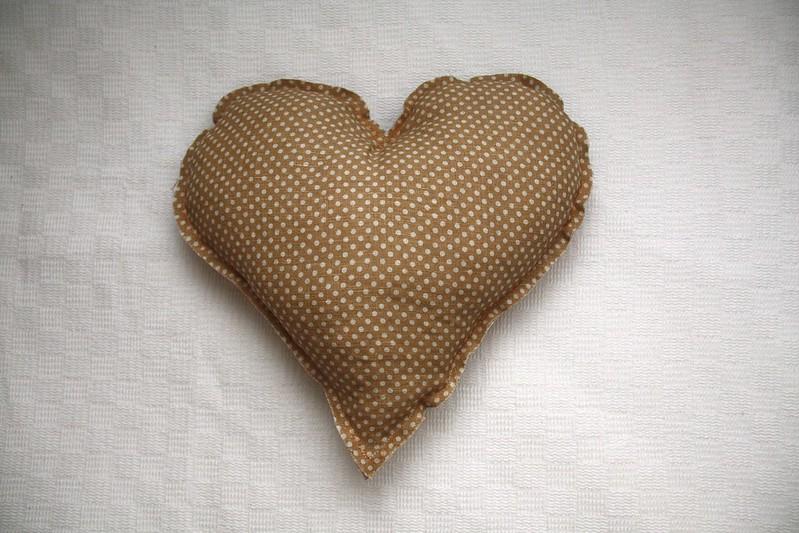 cojín corazon