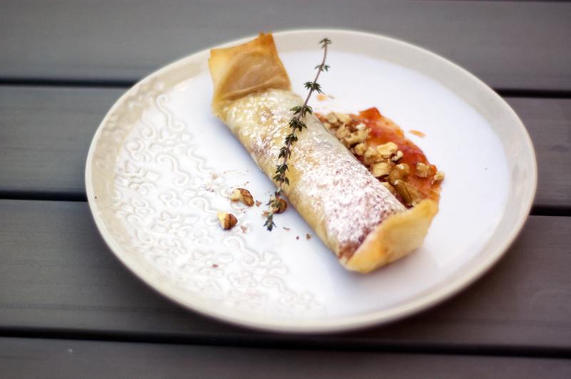 Cooking Memories, pastel de queijo e doce de tomate