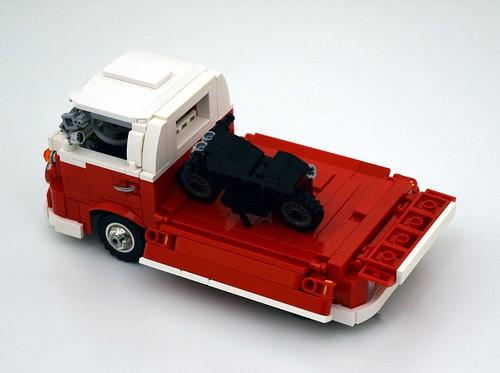VW T1 pick-up LEGO MOC