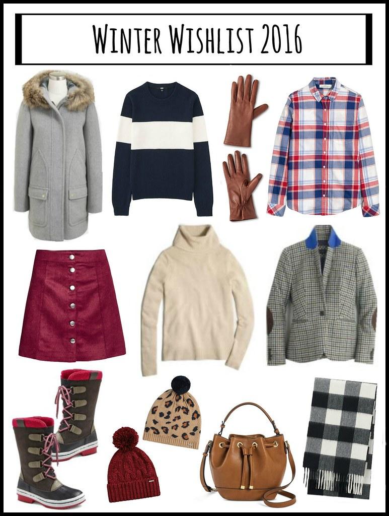 winter style wishlist 2016; Style On Target