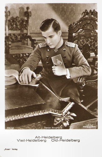 Ramon Novarro in The Student Prince of Old Heidelberg (1927)