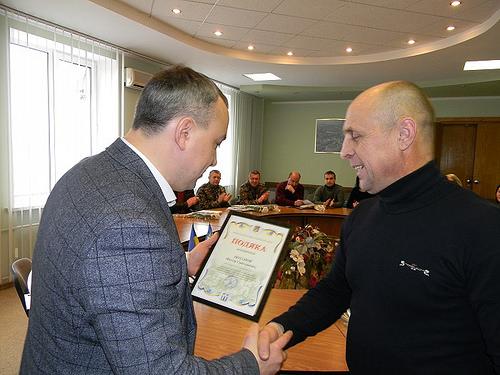 Муляренко подякував волонтерам за жертовність