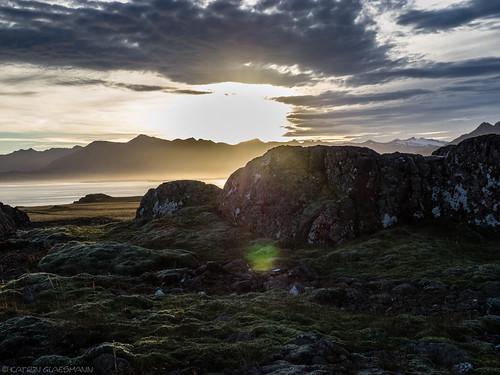 sunset sea coast iceland unterwegsmiticelandtours photographyholidaywithicelandtours