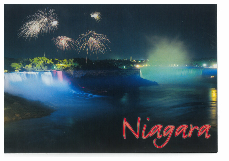 Canada - Niagara Falls 54 - Firework