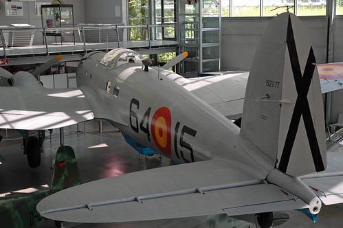 Heinkel He 111 H-16 (CASA 2.111 B) at the Deutsches Museum Flugwerft Schleißheim