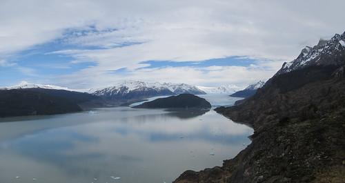 Torres del Paine: trek du W. Jour 4: le Lago et glaciar Grey.
