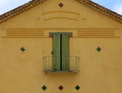 Balcony:  Tavernes, Var, Provence, France