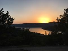 Sunset Over The Gorges Du Verdon