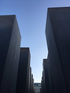 Image of Memorial to the Murdered Jews of Europe near Tiergarten. berlin germany holocaustmemorial holocaustmahnmal