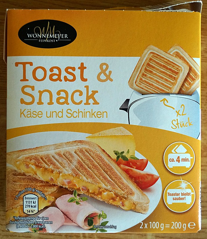 Toast & Snack Packung