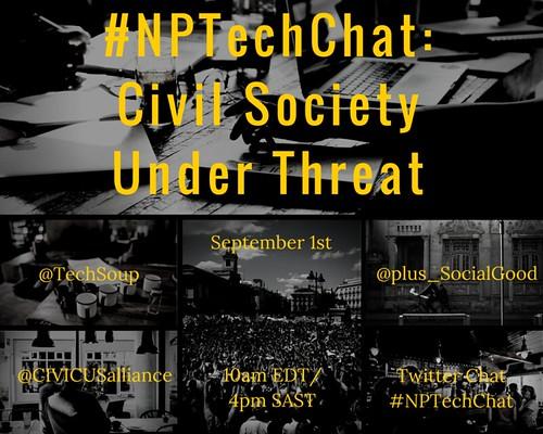 #NPTechChat CivilSociety