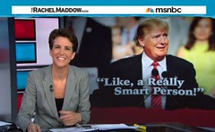 maddow and trump