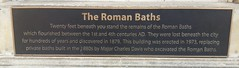 Photo of Roman Baths, Bath and Charles Davis bronze plaque