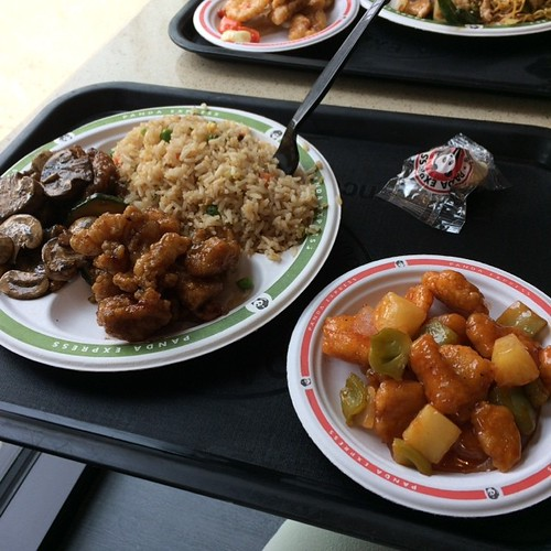 Chinese food for lunch #yegfood