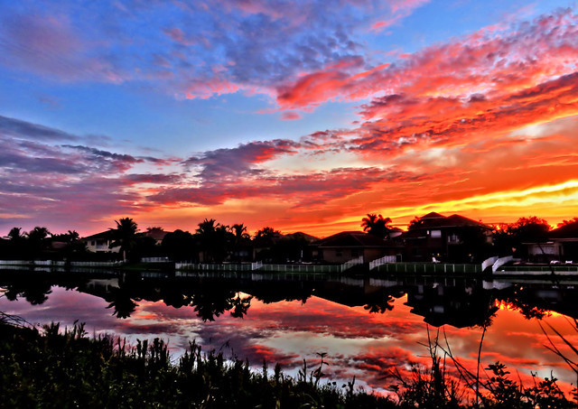 196th Canal before sunrise HDR 20150929