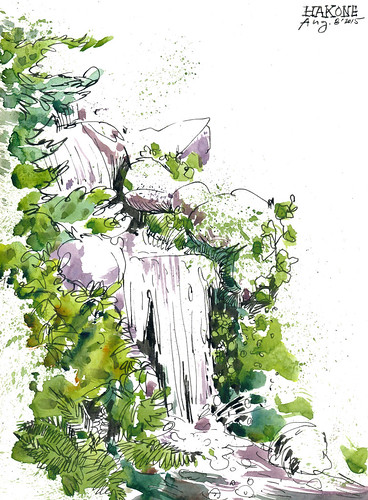 Sketchbook #92: Hakone Gardens