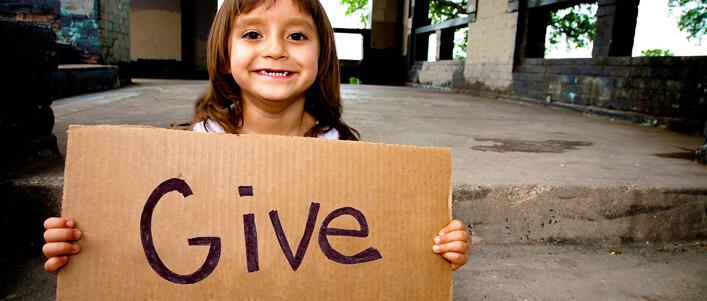 """慈善机构强调""""施予""""的道德性,同时指导你如何""""施予""""。(照片来源:Network for Good)"""