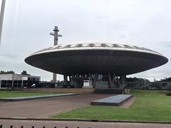 UFO/dome architecture in Eindhoven