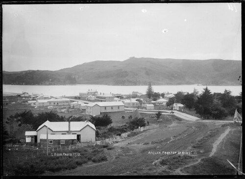Raglan, from the top of Bow Street, 1 July, 1910. ...