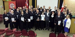 Firefighters honoured