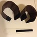 Questar Counterweight 3 - Completed weights and retaining strip by Rob Pettengill