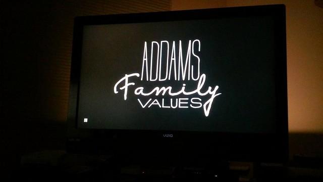 Header of Addams Family Values