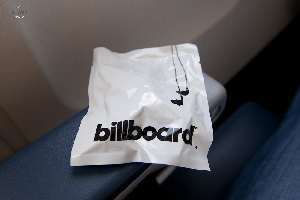Billboard branded headphones