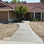 New Front Walkway And Entry Area In Vacaville