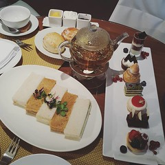 •Afternoon Tea at W Cafe W Doha•
