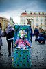 Street performer in Prag - Leica M & Noctilux by yAvuz.kaya