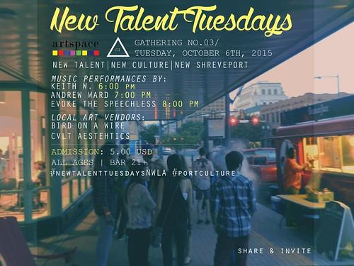New Talent Tuesdays, Shrveveport