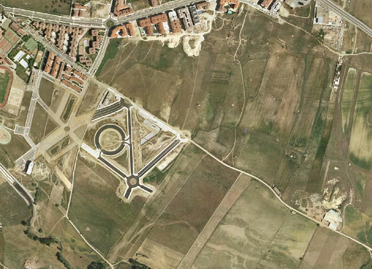 ávila, sureste, vuelta rotonda, antes, urbanismo, planeamiento, urbano, desastre, urbanístico, construcción