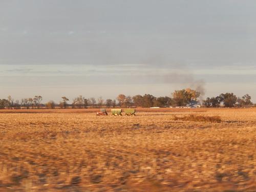 South Dakota - I90 bij sunset - 2