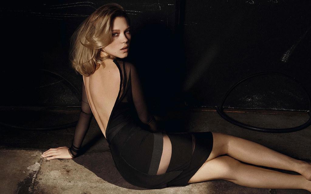 Леа Сейду — Фотосессия для «Vanity Fair» IT 2015 – 1