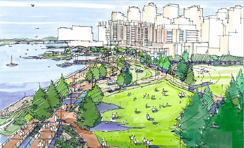 Creekside Park - concept 1