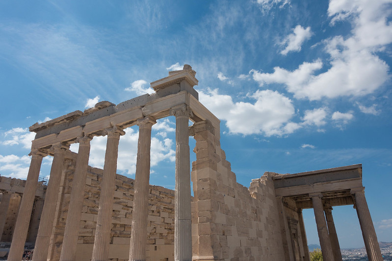Visiting the Acropolis, 14 September 2015 081-1