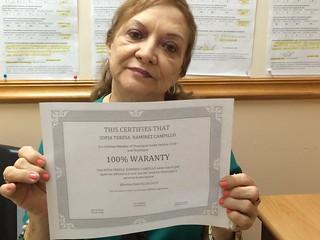 Sofia Teresa Campillo - Testimonio Sobre el Servicio de Reparacion de Credito en Municipal Credit Service Corp en Miami