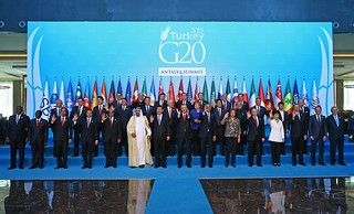 Family photo G20 Antalya, Turkey