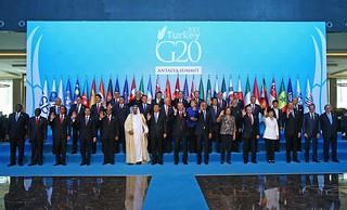 Family photo G20 Antalya, Turkey