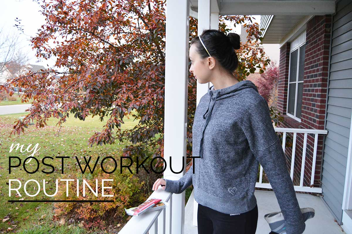 My Post Workout Routine!