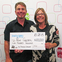 Renae Graybeal - $100,000 The Amazing Cashword