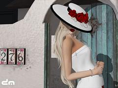Eleseren Brianna - Ascot Hat (Hunt Gift for Art in Hats)_001