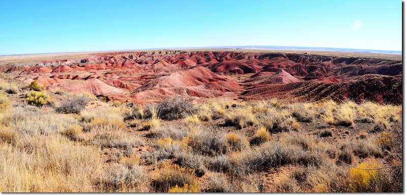 Painted Desert Panorama From Tiponi point 1
