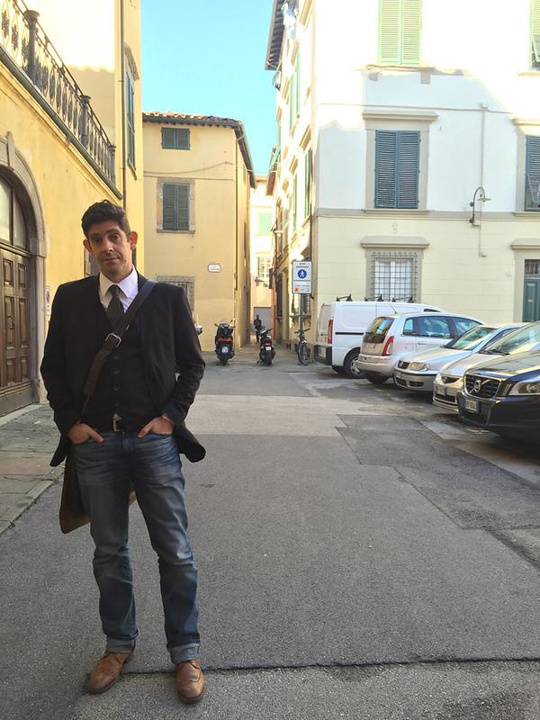 Fábio at Lucca