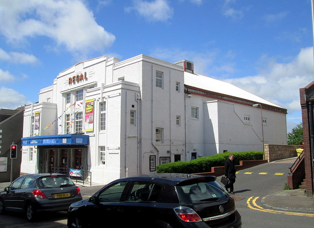 Regal Cinema, Bathgate, from side