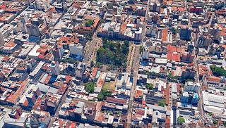 El centro de San Miguel de Tucumán