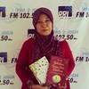 setelah #ManBehindTheMicrophone cs tadi pagi di PRO2 FM Jakarta, sore ini aku talkshow promo 2 buku baruku #MatahariMataHati & #BidadariSurgaPunCemburu di PRO2 FM Jogja  #rizalarmada #armadaband #bandarmada #pasmada
