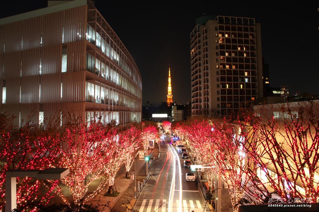 Tokyo Winter Illuminations- 六本木之丘-周圍點燈-IMG_0057079