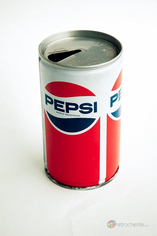 Pepsi - lata años 80